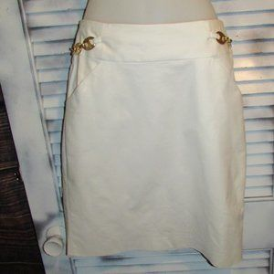 Milly of NY Sz 4 Skirt w/ Silk Lining and Pockets